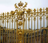 Versailles under clouds