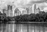 Mid Town Atlanta-View From Piedmont Park