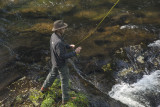 My Oldest Son Paul Fly Fishing