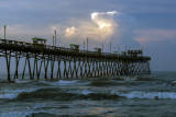 Bogue Inlet Pier-Early Morning