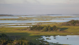 Marshland And The Intercostal Waterway- Western Side Of The Barrier Islands