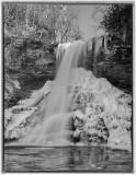 Frozen Cascades Falls -Jefferson National Forest -Giles County