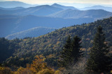 View From An Overlook Near Asheville, NC
