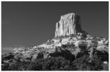 A Rock Formation Near Monument Valley, AZ
