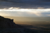 Early Morning Rain Storms Viewed From Muley Point, Utah
