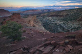 Blue Hour At Sunset Point, Capitol Reef National Park, Utah