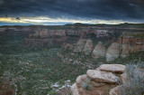 Sunrise At Colorado National Monument, Grand Junction, Colorado