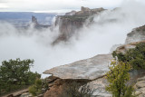 Low Clouds Over The Green River: Canyonlands National Park, Utah