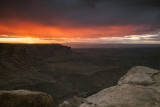 Sunrise At Muley Point, Utah