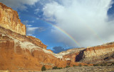 Rainbows At Capitol Reef National Park, Utah