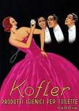 1920 - Advertisement for Kofler perfume
