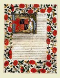 1503 - Marriage contract of Henry VIII to Katherine of Aragon