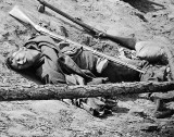 April 3, 1865 - Dead Confederate soldier