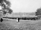 September 1914 - British recruits marching off to war