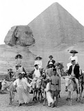 c. 1910 - Tourists and guides