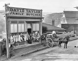 1910 - Butcher shop