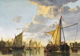 1650 - The River Maas at Dordrecht, the Netherlands