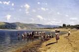 1889 - Tonya on the River Dnieper