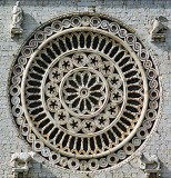 Window, Bassilica of St. Francis of Assisi, Assissi, Italy