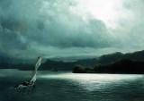 1870 - Sailboat in the Sea