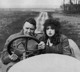 1913 - Barney Oldfield and Mabel Norman
