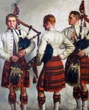 1918 - Bagpipe Practice