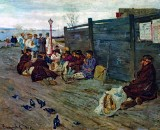 1888 - Unemployed, Waiting for the Ferry