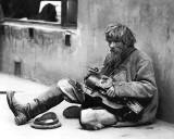 1900's - Beggar with a Ukrainian Lyra