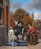 1654 - A Burgomaster of Delft and his daughter