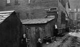 c. 1900 - Tenement alley