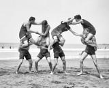 1914 - Lifeguards at play