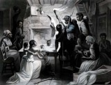 1863 - Reading the Emancipation Proclamation