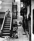 c. 1890 - Baxter Street Alley in Mulberry Bend