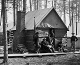 1864 - Officers' winter quarters