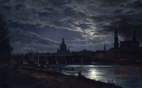 1839 - Dresden by Moonlight