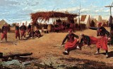 1865 - Zouaves pitching horseshoes