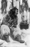 1922 - Eskimo enjoying music