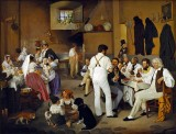 1837 - Artists in a Roman Tavern