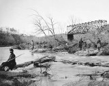 April 1863 - Military bridge