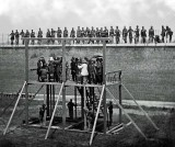 July 7, 1865 - Conspirators in Lincoln's assassination being prepared for hanging