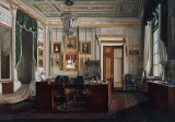 c. 1865 - Alexander II's study in the Winter Palace