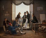 c. 1835 - Danish artists in Rome
