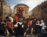 July 1703 - Daniel Defoe in the pillory