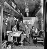 c. 1900 - Railroad car with photographic equipment