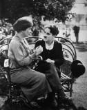 1919 - Helen Keller and Charlie Chaplin