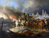 September 1812 - Napoleon watching the burning Moscow