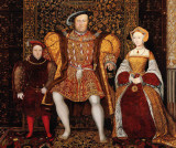 c. 1545 - Henry VIII with Prince Edward and Jane Seymour