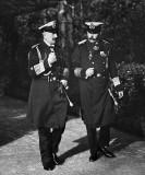 May 1914 - Kaiser Wilhelm II with Archduke Franz Ferdinand of Austria