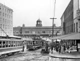 c. 1905 - Pennsylvania Railroad ferry terminal, Market Street