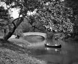 c. 1906 - Hermit Lane Bridge on the Wissahickon Creek